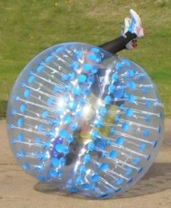 HolleywebTM Blue Bubble Soccer Ball Dia 5' (1.5m) Human Inflatable Bumper Bubble Balls