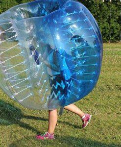HolleywebTM Bubble Football Suits Dia 5' (1.5m) Bubble Soccer Equipment Human Inflatable Bumper Bubble Balls