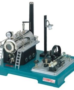 Wilesco-D18-Steam-Engine-with-Generator-0