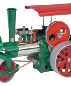 Wilesco-D365-Steam-Roller-Green-0