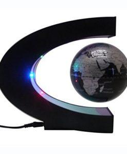 ASOX-Funny-C-Shape-Magnetic-Levitation-Floating-Globe-World-Map-LED-Light-office-table-decorate-0