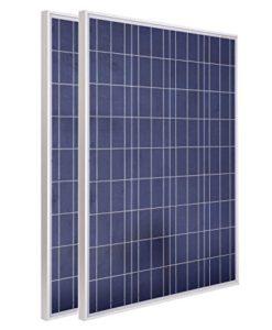 ECO-WORTHY-USA-STOCK-2pcs-100W-12V-Polycrystalline-Photovoltaic-PV-Solar-Panel-Module-RV-Boat-0