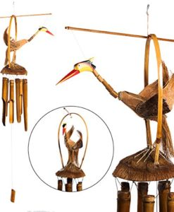 Gilbert-Gooney-Bird-Of-Paradise-Bamboo-Wind-Chime-Hand-Tuned-Wood-Bells-Outdoors-0