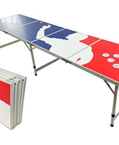 NEW-8-BEER-PONG-TABLE-ALUMINUM-PORTABLE-ADJUSTABLE-FOLDING-INDOOR-OUTDOOR-TAILGATE-PARTY-GAME-7-0