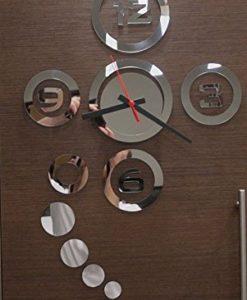 Peel-N-Stick-Functioning-Mirror-Wall-Clock-Decal-0