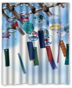 new-promotion-The-angel-of-the-wind-chime-Shower-Curtain-60x72-inch-Intimate-design-0
