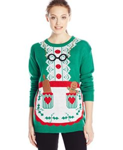 Allison-Brittney-Womens-Long-Sleeve-Mrs-Clause-Ugly-Christmas-Sweater-0