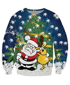 Apparel4yu-Unsiex-Ugly-Christmas-Pullover-Sweater-Crewneck-X-mas-Sweatshirts-0