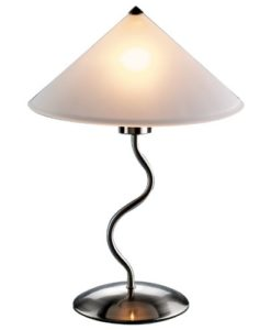 LumiSource-Doe-Li-Touch-On-19-Inch-Metal-Table-Lamp-with-Frosted-Glass-Shade-0