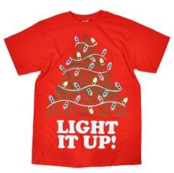 Mens-Light-It-Up-Christmas-T-Shirt-0
