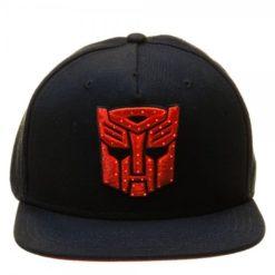 Transformers-Autobot-Logo-Black-Snapback-with-Fiber-Optic-Lights-0