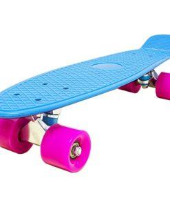 Love-Fly-Plastic-Cruiser-Skateboard-22-Inch-Standard-Skateboard-0