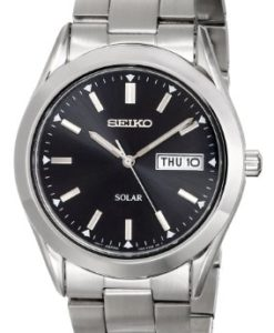 Seiko-Mens-SNE039-Stainless-Steel-Solar-Watch-0
