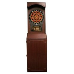 Arcade-Style-Cabinet-with-Cricket-Pro-800-Electronic-Game-0