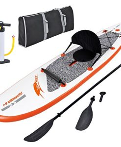Blue-Wave-Sports-Stingray-Inflatable-Stand-Up-Paddleboard-with-Paddle-and-Hand-Pump-10-Feet-0