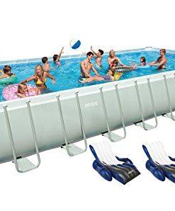 Intex-32-x-16-x-52-Ultra-Frame-Rectangular-Swimming-Pool-Set-0