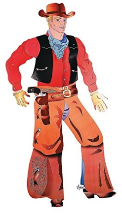 Large-Jumbo-sized-Jointed-COWBOY-Cutout-5-Ft-Cardboard-Perfect-Photo-Opportunity-0