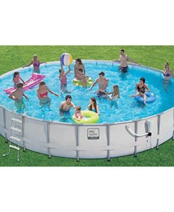 Proseries-Frame-Pool-Set-with-Mosaic-Print-24-Ft-0