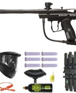 Spyder-Victor-Paintball-Marker-Gun-3Skull-Mega-Set-Black-0