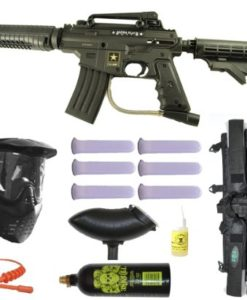 US-Army-Alpha-Black-Tactical-Paintball-Marker-Gun-3Skull-Mega-Set-Black-0