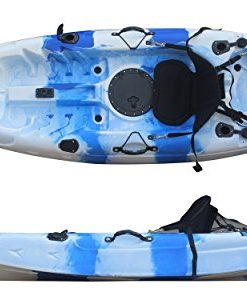 Useful-UH-FK184-92-Sit-on-Top-Single-Fishing-Kayak-Seat-And-Paddle-included-0