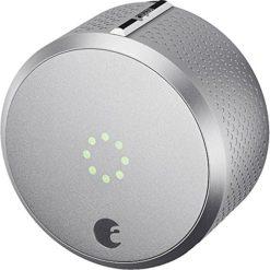 August-Smart-Lock-HomeKit-Enabled-Silver-0