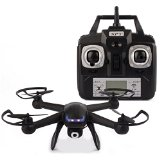 Nighthawk Dm007 Spy Explorers Outdoor&indoor 4ch 6 Axis Gyro RTF Remote Control Quadcopter 2.4ghz Rc Drone Aircraft Toy with 2mp Camera (Black)