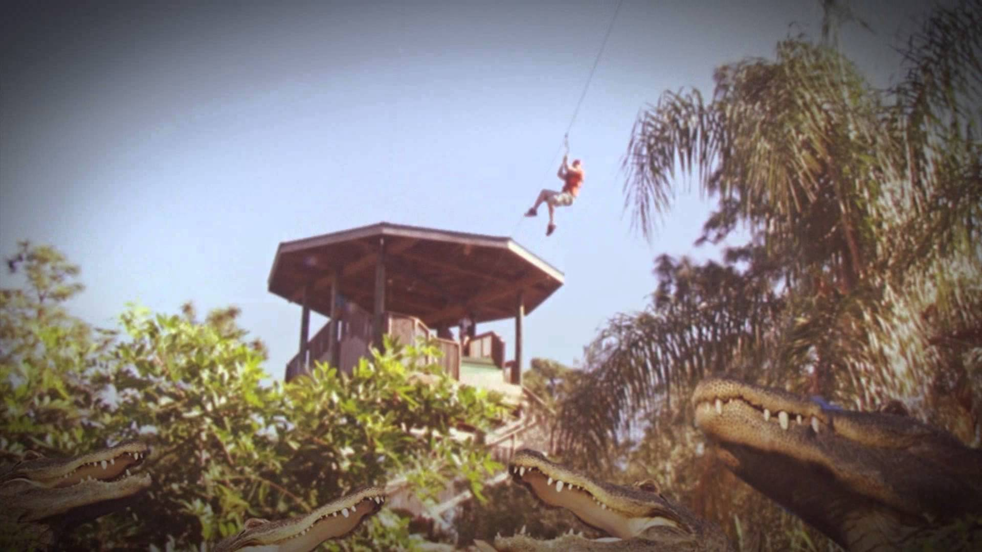 Screamin Gator Zipline 2014