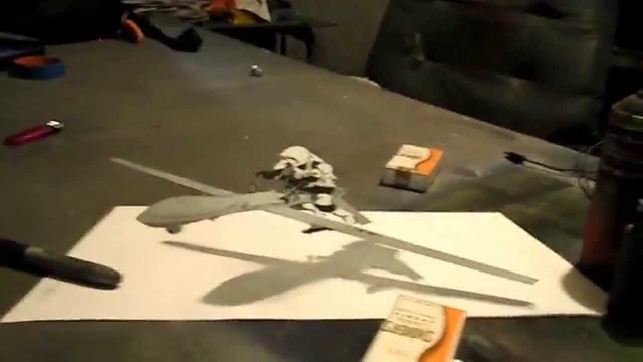 Attack of the Drones: Anamorphic Art