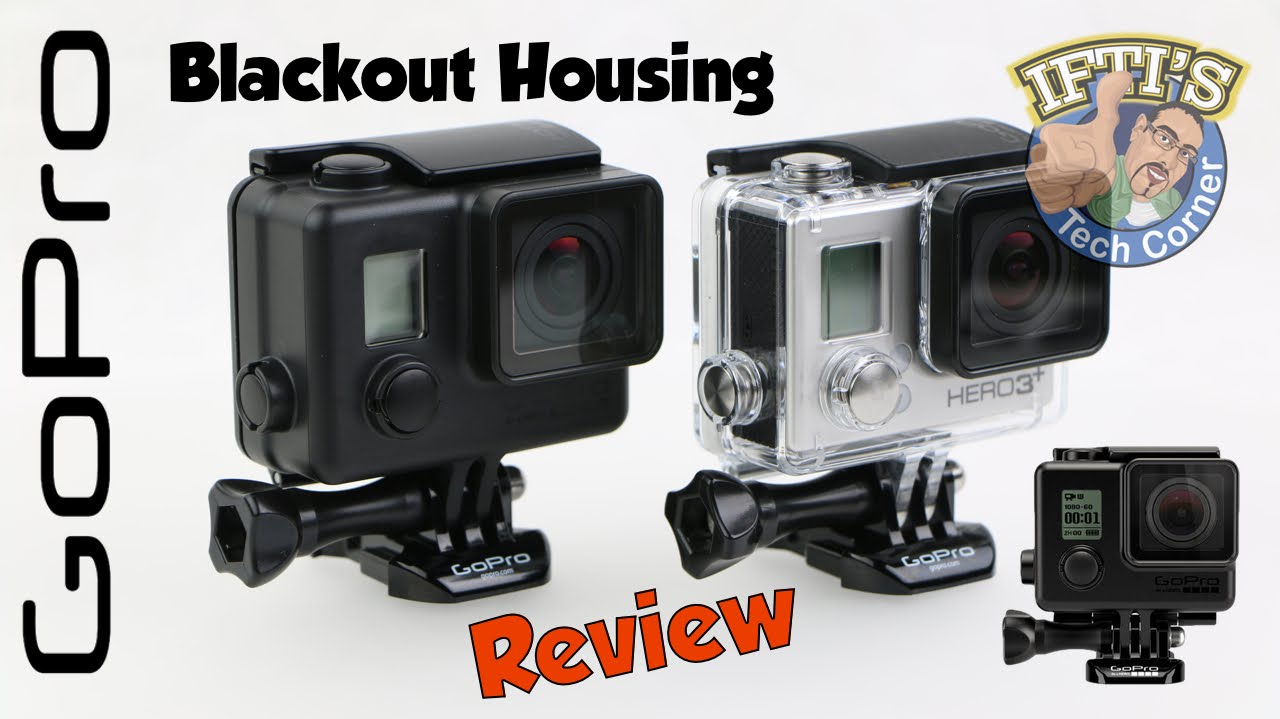 GoPro Blackout Housing – Stealth non-reflective Housing! – REVIEW