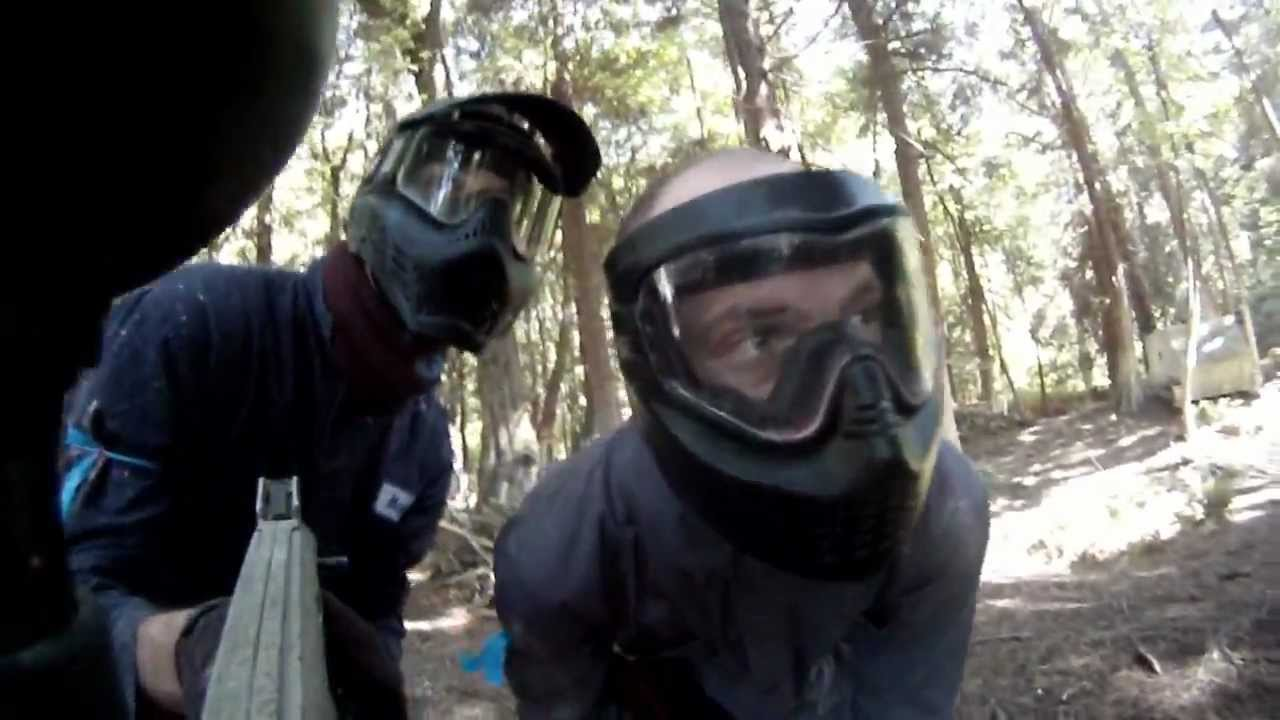 Serious Paintball Fun – with GoPro – HD 720p