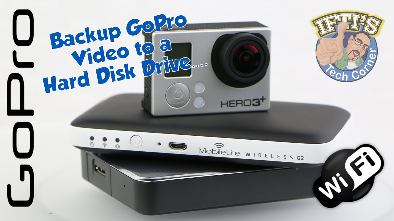 How To Transfer GoPro Video to an External Hard Drive without a computer