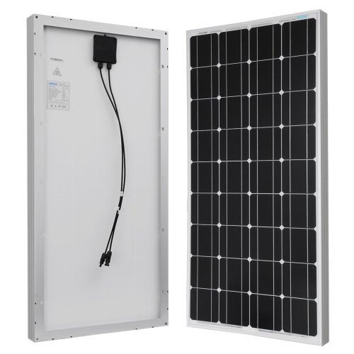 Renogy 4 Piece 100W Monocrystalline Photovoltaic PV Solar Panel Module 12V Battery Charging