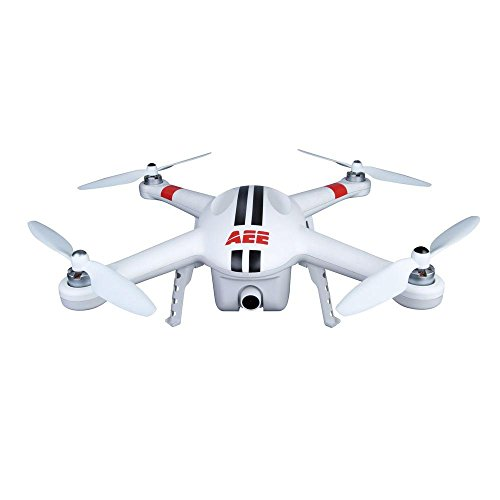 AEE AP10 Drone Quadcopter Aircraft System with Integrated 16MP FPV Camera (White)