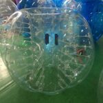 Free Shipping Inflatable Bumper Bubble Balls Body Zorb Ball Soccer Bumper Football 1.5m Transparency with Transparencydot