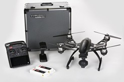 NEW Yuneec Q500 4K Quadcopter APV with CGO3 Camera, 2 Batteries, 2 Sets of Propellers, Aluminum Case, Steadygrip a