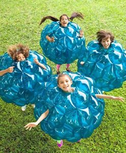 Buddy Bounce Outdoor Play Ball, Inflatable - Blue - 36