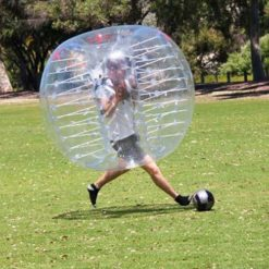 HolleywebTM 6 Balls Package Clear Bubble Soccer Suits Dia 5' (1.5m) Inflatable Bubble Football for Adults