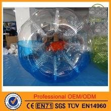 Body Zorb Zorbing Inflatable Human Ball, Soccer Bubble Ball, Bumper Ball,1.5m4.92ft