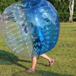 HolleywebTM Bubble Football Suits Dia 5′ (1.5m) Bubble Soccer Equipment Human Inflatable Bumper Bubble Balls