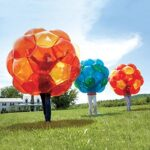 GBOP (Great Big Outdoor Playball) Incred-a-BallTM, Inflatable – Orange and Yellow – 65″ diam.