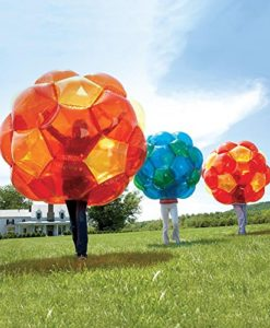 GBOP (Great Big Outdoor Playball) Incred-a-BallTM, Inflatable - Orange and Yellow - 65