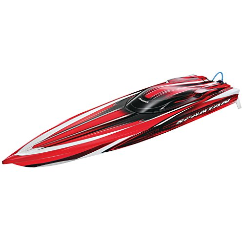 Traxxas 57076-1 Spartan Brushless Boat RTR with 6S Marine Power System, Color May Vary