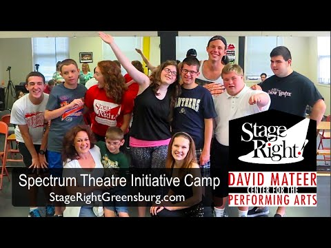 Stage Right! Spectrum Theater Initiative (summer camp for amazing young people with autism)