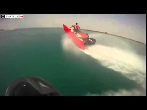 High Speed Boating Stunts
