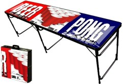 8-Foot-Professional-Beer-Pong-Table-w-Optional-Glow-Lights-Bluetooth-Speaker-Holes-Party-Pong-Logo-0