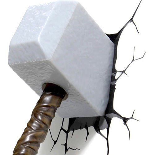 Avengers-3d-Fx-Deco-Led-Light-Thor-Hammer-Wall-Decoration-Mount-New-0
