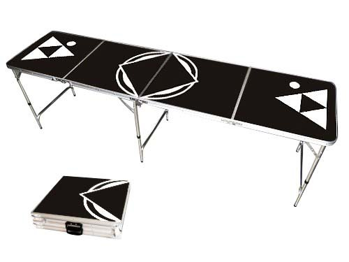 Beer-Pong-Table-Black-8-FEET-Portable-0-0