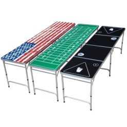 GoPong-8-Foot-Portable-Beer-Pong-Tailgate-Tables-Black-Football-or-American-Flag-0