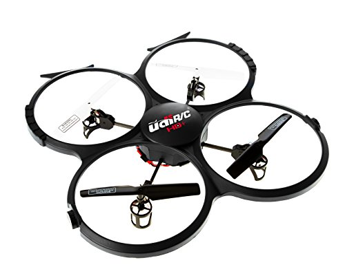 Latest-UDI-818A-HD-RC-Quadcopter-Drone-with-HD-Camera-Return-Home-Function-and-Headless-Mode-24GHz-4-CH-6-Axis-Gyro-RTF-Includes-BONUS-BATTERY-POWER-BANK-Quadruples-Flying-Time-USA-TOYZ-EXCLUSIVE-0-0